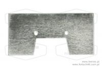 Blacha łopatki duża 157mm - HEMAS.PL CZĘŚCI FORTSCHRITT PANKÓW