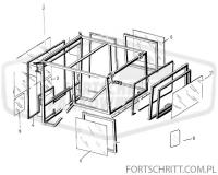 Szyba kabiny tylna owalna ZT 323 - HEMAS.PL CZĘŚCI FORTSCHRITT PANKÓW